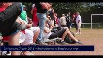 Pétanque : Championnat Mixte de ligue régionale Nord pas de Calais à Etaples sur mer