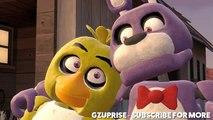 FNAF Animation _ Bonnie Save Chica (Five Night's At Freddys SFM) [SFM FNAF]