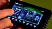 NVIDIA Tegra 3D UI Demo