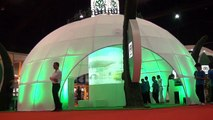 360 degree projection mapping.