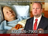 Elder Abuse Lawyer / Attorney in California: Signs of Abuse