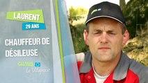 Salariés de cuma des métiers à découvrir - Portrait de Laurent - Chauffeur désileuse en Bretagne