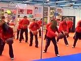 tafad leon feria plaza toros 2008 coreografia balones
