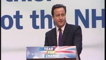 David Cameron outlines Conservative NHS plans