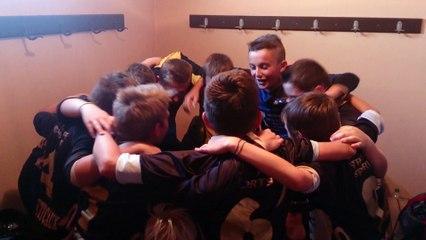 Cri de Victoire des U13-1 pour leur dernier match à NOINTOT