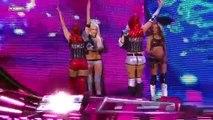 Natalya,Kelly Kelly,  The Bella Twins vs Maryse,Alicia Fox   Team laycool