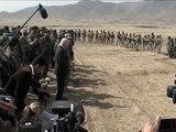 Secretary of Defense Robert Gates Visits Training Site in Afghanistan