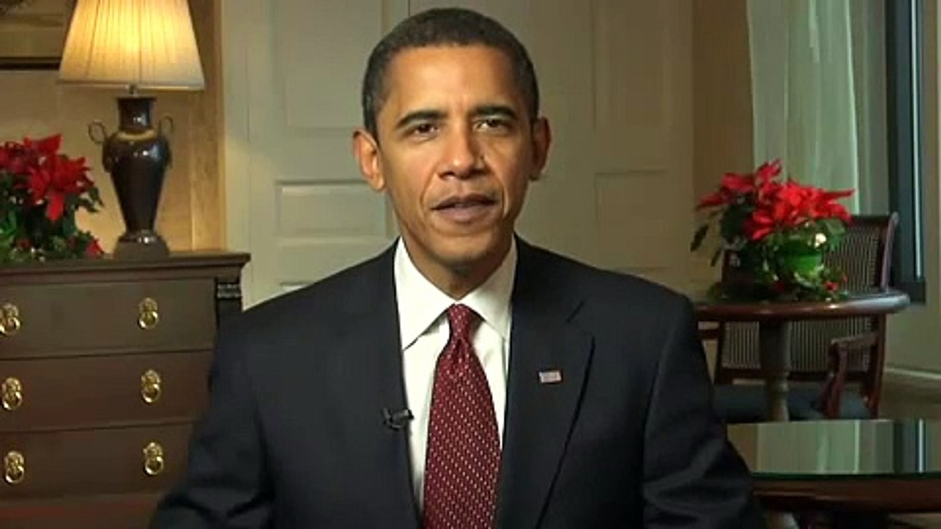 President-elect Barack Obama Holiday Message: Happy Holidays Everybody!!!