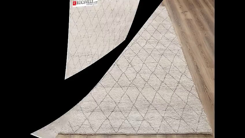 Rugsville: Home Decor with Modern moroccan area rugs
