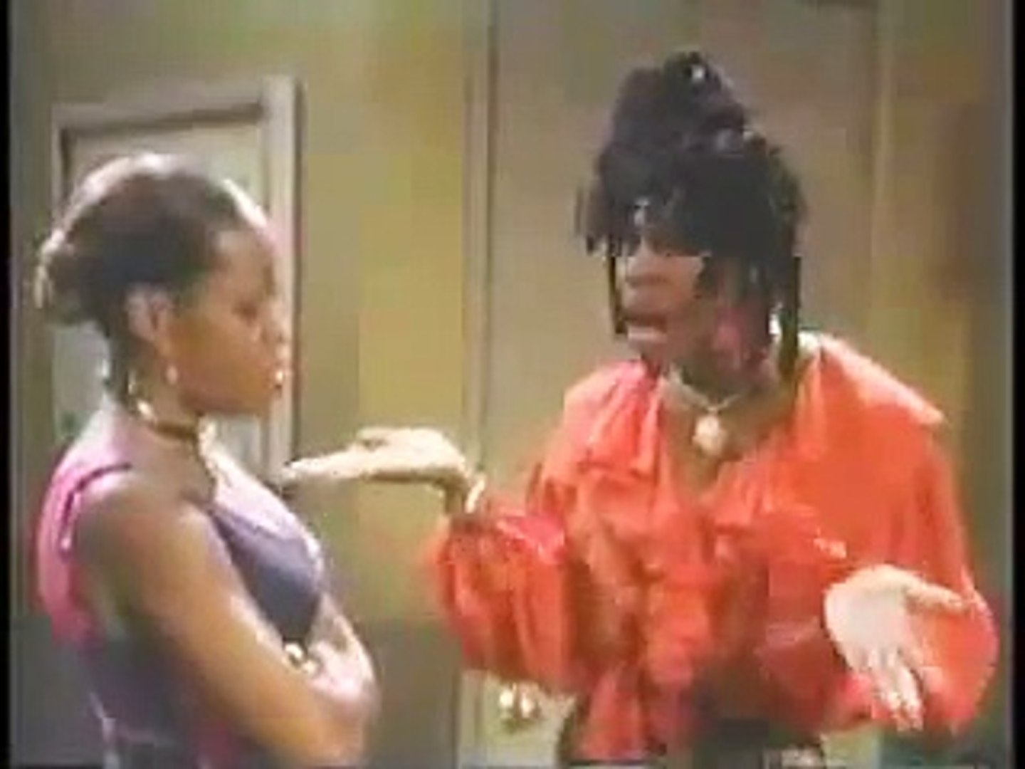 Martin Lawrence TV Show - Sheneneh & Pam