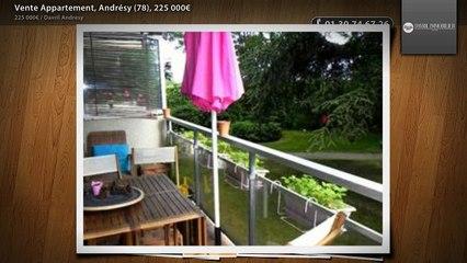 Vente Appartement, Andrésy (78), 225 000€
