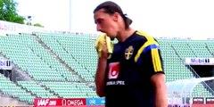 La drôle de blague de Zlatan Ibrahimovic à un journaliste !