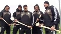Munster v the All Blacks - see the All Blacks playing hurling & Gaelic Football