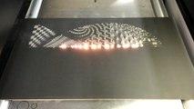 Art moderne - Sculpture au laser
