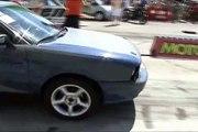 Audi 90 Quattro Turbo 800 HP Vs. Ford Fiesta RS Turbo Drag Race [1/4 Mile]