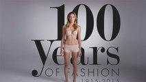 100 ans de mode féminine