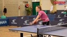 Dinan Championnats de Bretagne de tennis de table : la finale senior dames