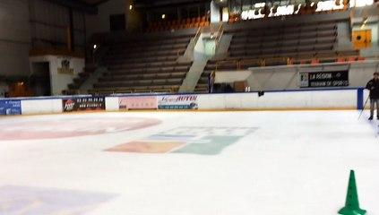 Experimentation cinématique du patinage