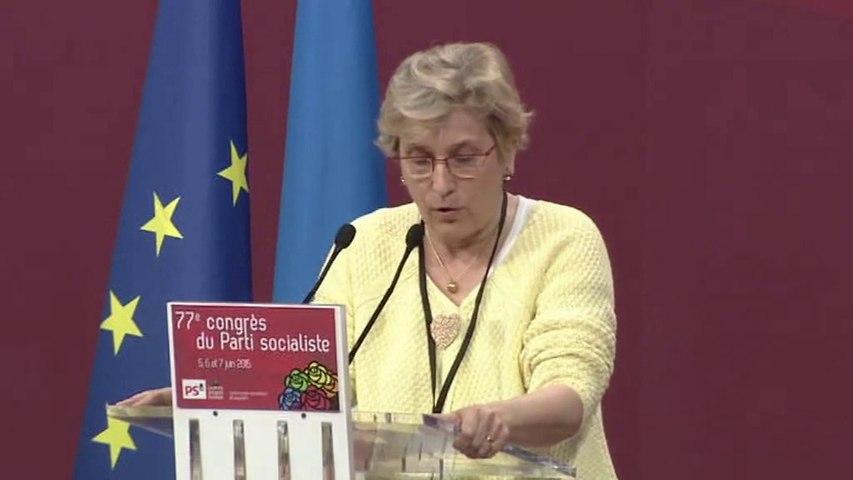 Intervention de Marie-Noëlle Lienemann - 6 juin 2015 - Congrès de Poitiers