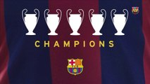 1992 I 2006 I 2009 I 2011 I 2015 - FC Barcelona UEFA Champions League winners