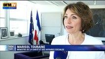 """Alcool: """"Je désapprouve cet amendement"""", déclare Marisol Touraine"""