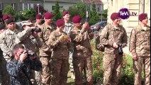 Des soldats américains sur les pas de leurs aïeux à Carentan [TéVi] 15_06_08
