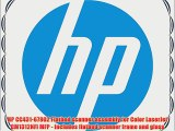 HP CC431-67902 Flatbed scanner assembly for Color LaserJet CM1312NFI MFP - Includes flatbed