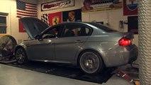 BMW E92 M3 V8 Maxflo Exhaust Dyno Run
