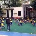 Incroyable niveau de danse avec des enfants