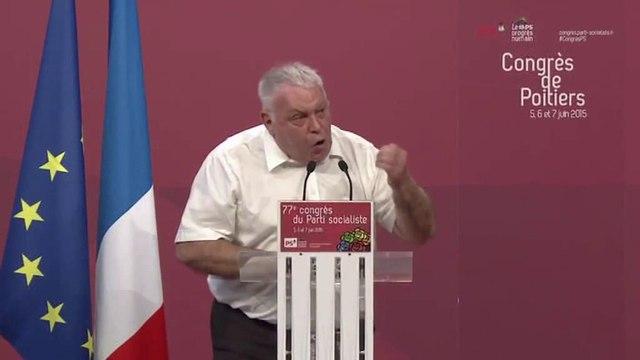 Intervention de Gérard Filoche - 6 juin 2015 - Congrès de Poitiers