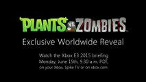 Plants vs Zombies : Garden Warfare - E3 2015 Trailer