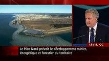 Le Plan Nord dévoilé par Jean Charest (Radio-Canada)