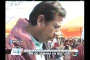 Visitantes denuncian caos en feria gastronómica Mistura 2013