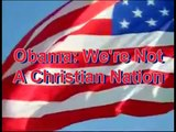 Obama - We're Not A Christian Nation