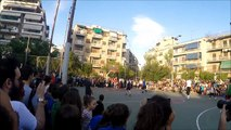 Giannis Antetokounmpo  in the old neighborhood in sepolia (Greece) street basketball all highlights