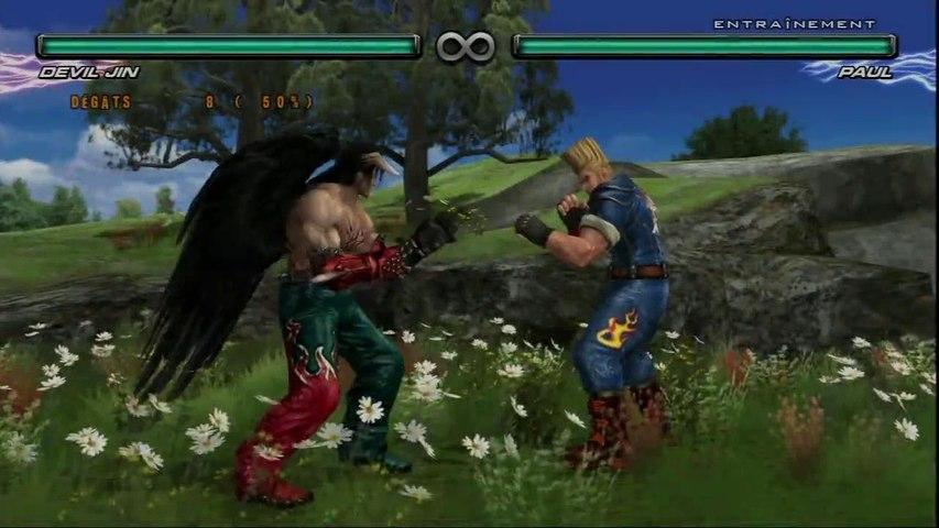 Tekken 5 Dark Resurrection Devil Jin Combo Video Video Dailymotion