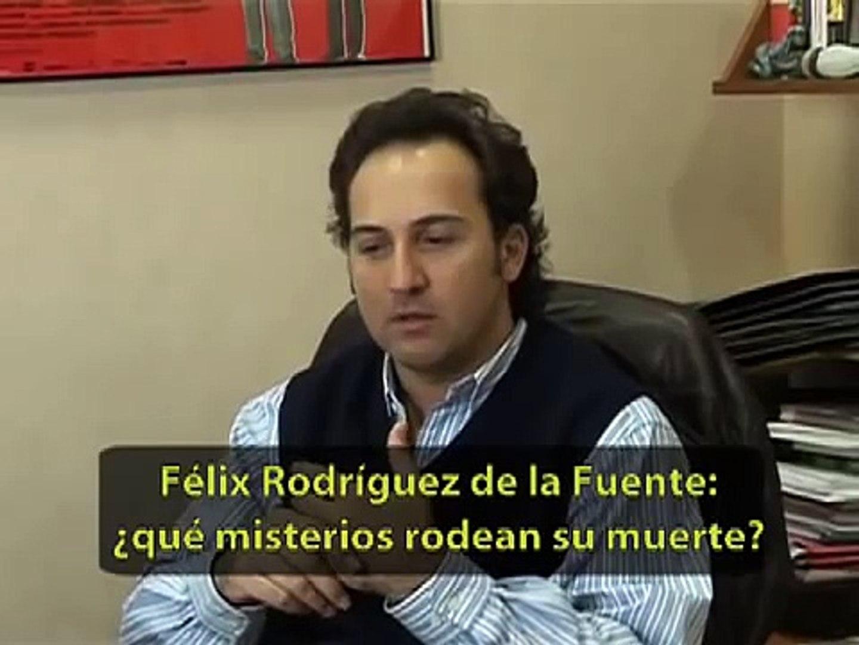 Iker Jiménez - Felix Rodriguez de la Fuente - Terror y misterio en Cuarto  Milenio