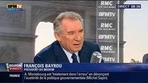 François Bayrou, invité de Bourdin Direct sur BFMTV - 080615