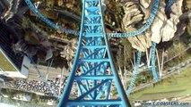 Blue Fire Europa Park - Roller Coaster POV On Ride Mega Coaster Mack Rides (Theme Park Germany)