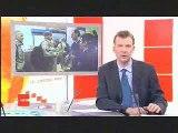 Retour soldats pilotes de chasse Belges isaf afghanistan jt rtbf 19h30 2009 01 13