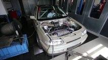 VW Golf Drag Car makes 1015HP on Dyno | SPB Racing, Germany