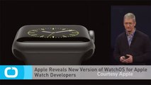 Apple Reveals New Version of WatchOS for Apple Watch Developers