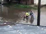 Las lluvias causan serios problemas en Santa Fe 2