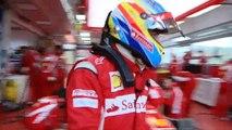 F1 - Ferrari F150 launch - Shakedown at Fiorano with Fernando Alonso