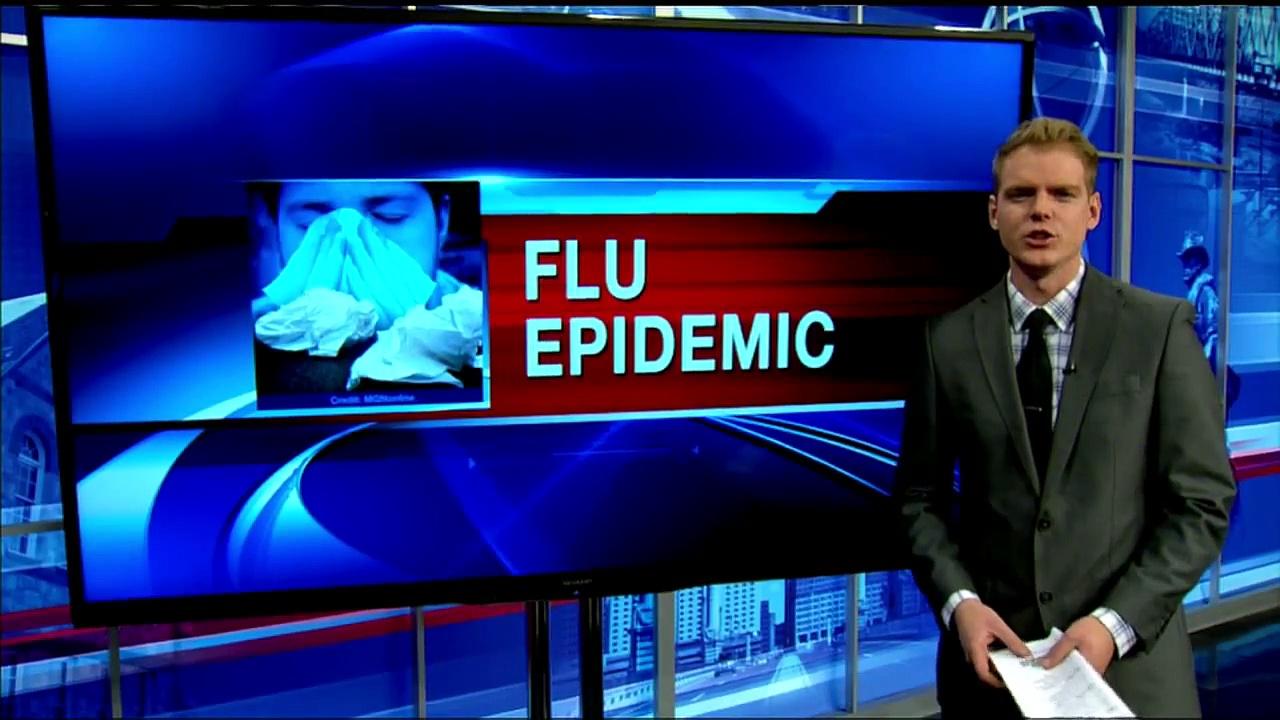 CDC says flu at epidemic levels