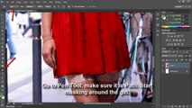 Photoshop tutorial for beginners remove background using pen tool