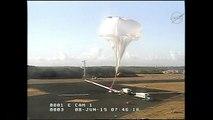 La NASA prueba nuevo paracaídas supersónico
