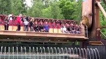 Attractie in Walibi faalt - Attraction fails (Dutch)
