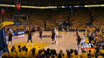 Cleveland Cavaliers beat Golden State 95-93 after dramatic overtime