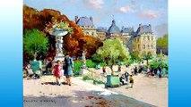 Edouard Cortés y sus pinturas